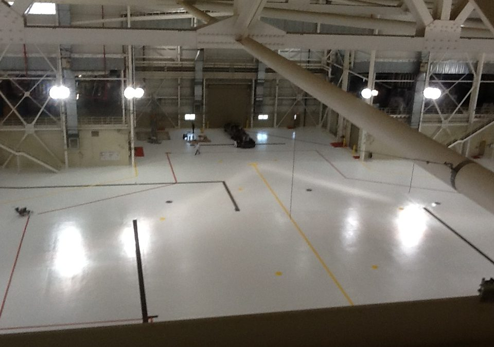 Memphis Hangar Flooring