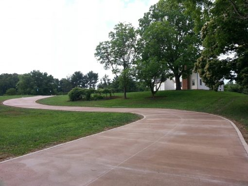 Historic Sabine Hill Driveway Replacement